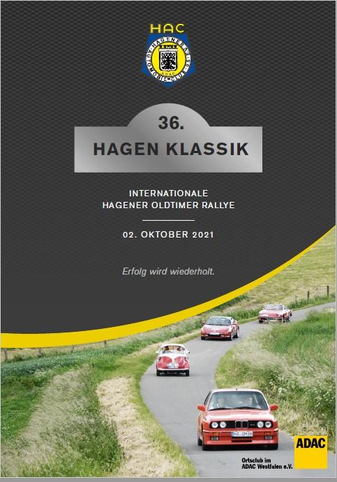 Aktuelle Informationen zur 36.Hagen-Klassik